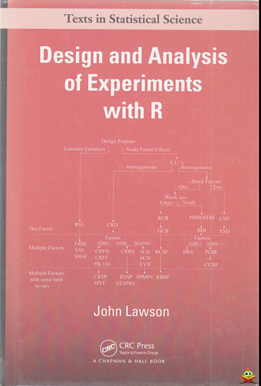 Afbeelding van Design and Analysis of Experiments with R