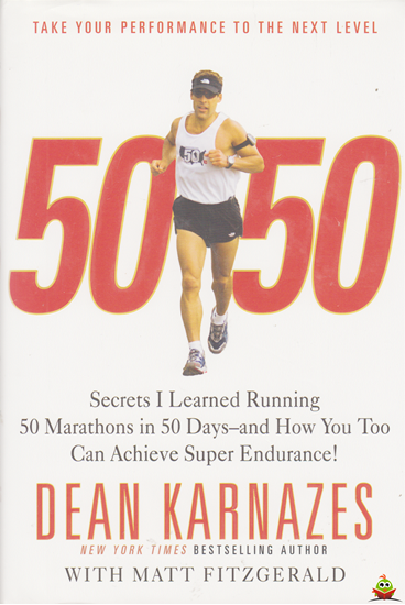 Afbeelding van 50 50 Secrets I Learned Running 50 Marathons in 50 Days
