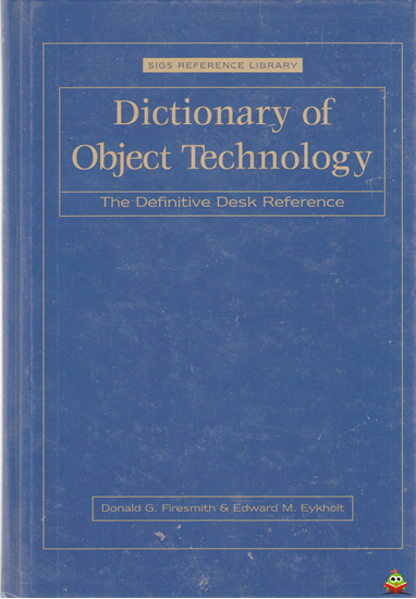 Afbeelding van Dictionary of Object Technology